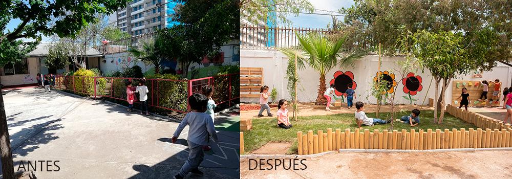 Jardín Infantil Agua Luna | Quinta Normal | SC Johnson - Fundación ...